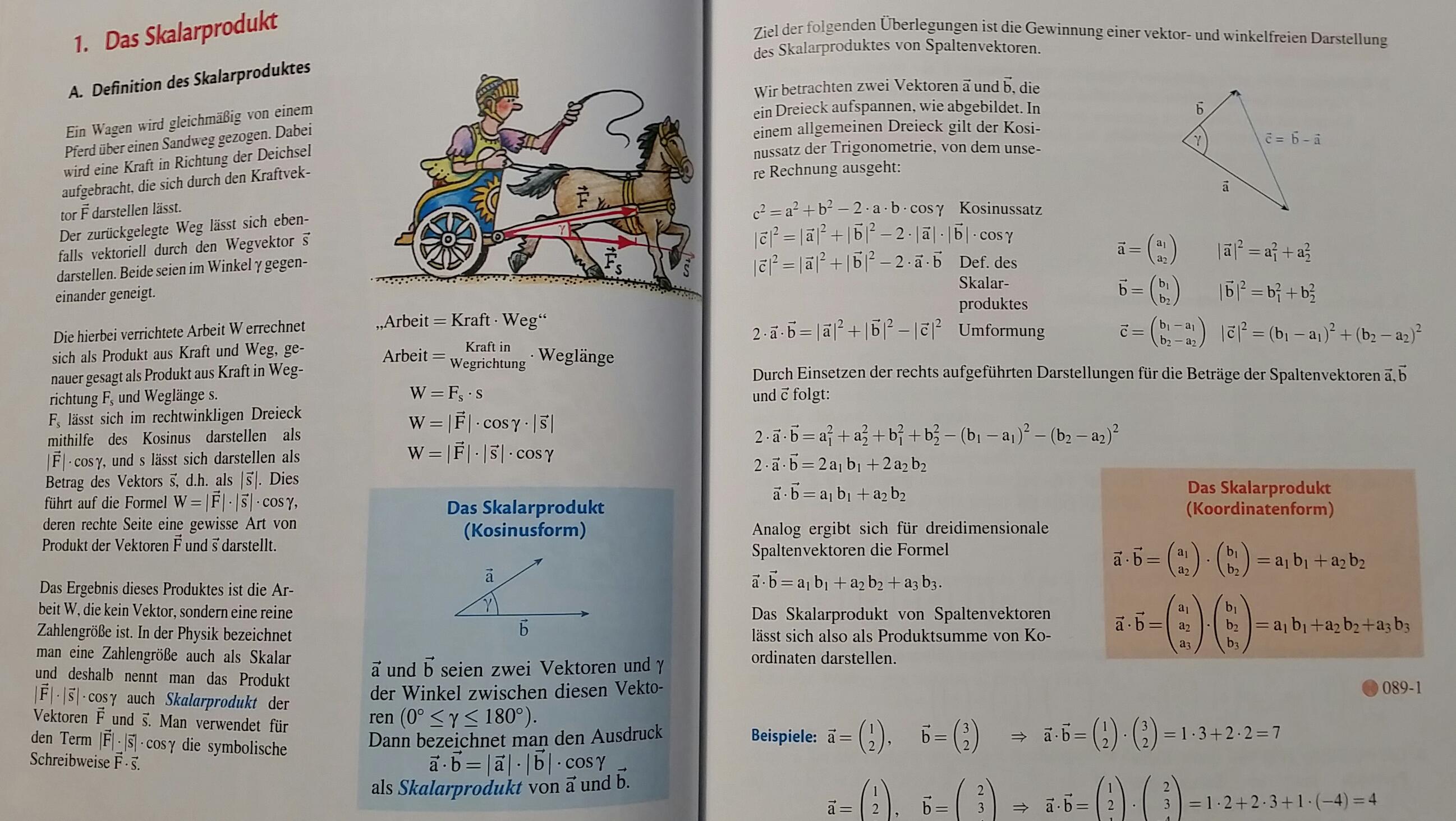 Fein Skalarmultiplikation Von Matrizen Arbeitsblatt Galerie - Super ...